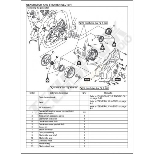 Yamaha Grizzly Parts Diagram
